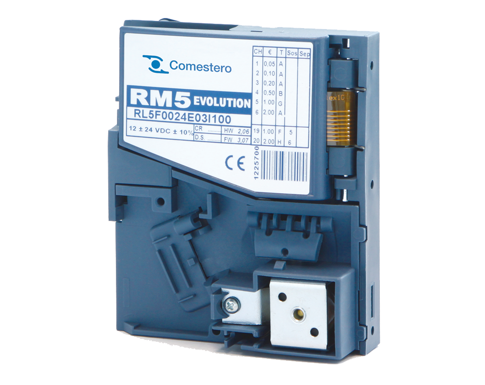 Coin validator RM5 Evolution COMESTERO - ViewPro s.c.