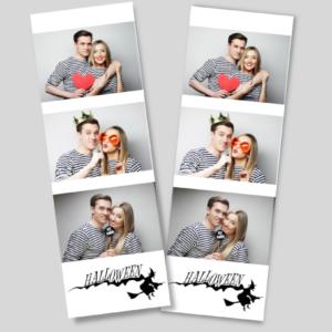 halloween 2 layout frame photobooth