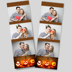 halloween 3 layout frame photobooth