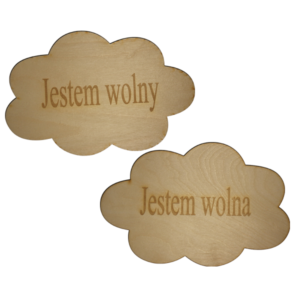 Wooden photobooth plates